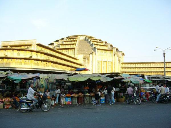 Phnompenh Central Market