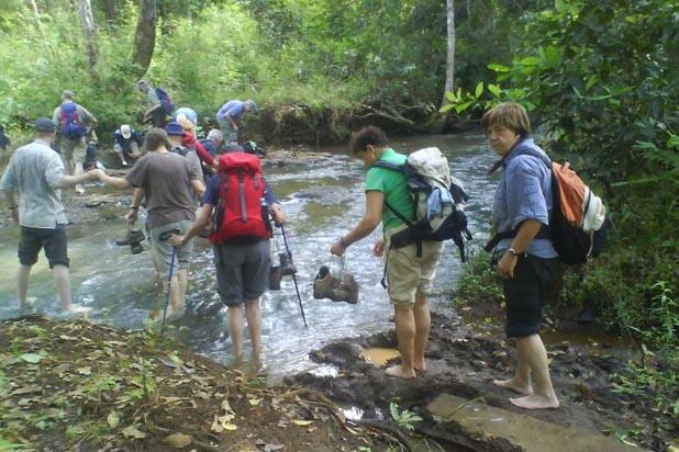Trekking in Modulkhiri